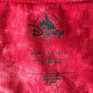 Disney Tops - Star Wars Red Tie Dye Shirt {A45}